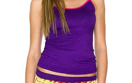 Dámská souprava fialového tílka a kalhotek Purple Jam