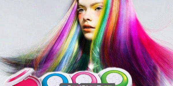 4 smývatelné barvy na vlasy Hot Huez pro váš neodolatelný účes!