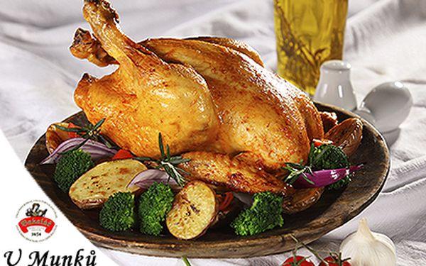 Lahodné menu pro DVA s baby kuřátkem za 279 Kč! Pochoutka v centru!