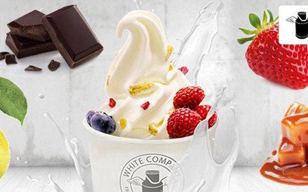 200 g svěžího mraženého jogurtu FROGURT