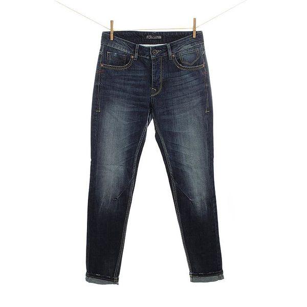 Dámské modré šisované džíny Fuga