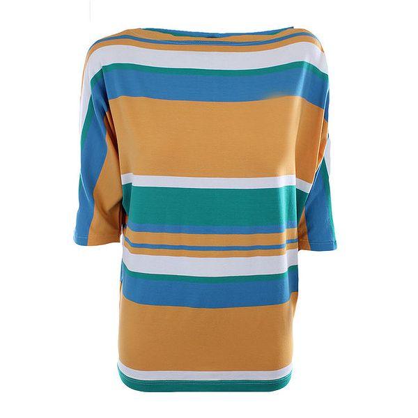 Dámské vícebarevné pruhované tričko Pietro Filipi