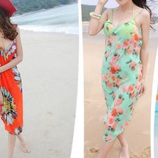 Příjemné plážové šaty na horké letní dny v několika variantách