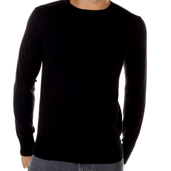 Pánský černý svetr Bendorff