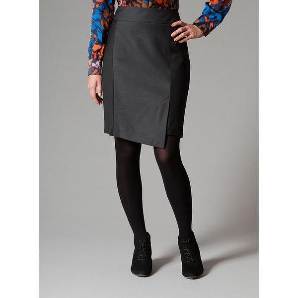 Dámská černá pouzdrová sukně Pietro Filipi