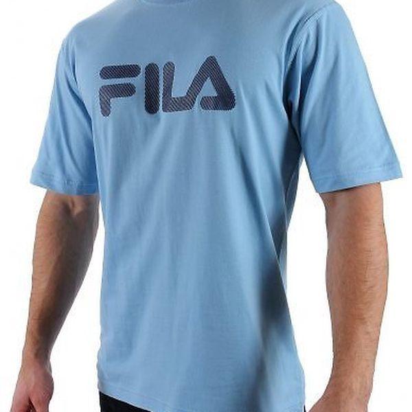 Sportovní triko Fila pro muže (Fila pánské tričko Misty Blue, velikost S)