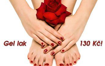 Aplikace oblíbeného GEL LAKU na nehty na nohou! Výběr z neuvěřitelného množství barev permanentního laku, který zpevní a ochrání vaše nehty na až 6 týdnů! Salon Imperial Beauty v samém centru Prahy 1 u stanice metra Náměstí Republiky!!