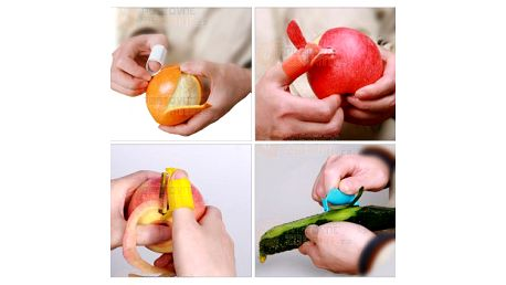 Univerzální škrabka a loupač na ovoce a zeleninu na prst a poštovné ZDARMA! - 18010828