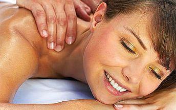 60minutová masáž dle vlastního výběru se slevou 76%