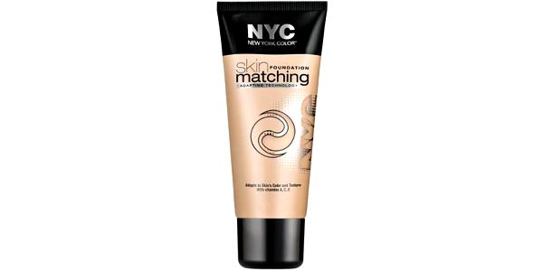 NYC New York Color Skin Matching Foundation Makeup 30ml Make-up W - Odstín 686 Light