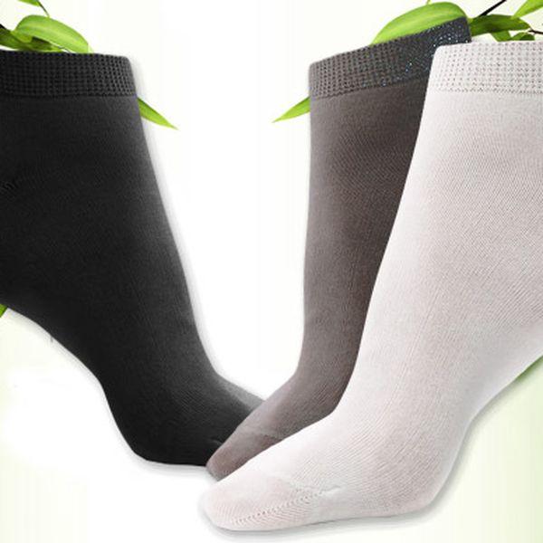 12 párů ponožek z bambusového vlákna
