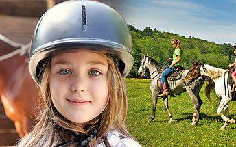 Letní koňský příměstský tábor na Black Rose ranch