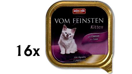 Animonda Vom Feinstein cat junior jehně 16 x 100g