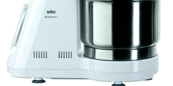 S profesionálním kuchyňským robotem Braun K 3000 Multiquick 7 velmi snadno připravíte těsto na pizzu, domácí těstoviny, složité dorty atd.