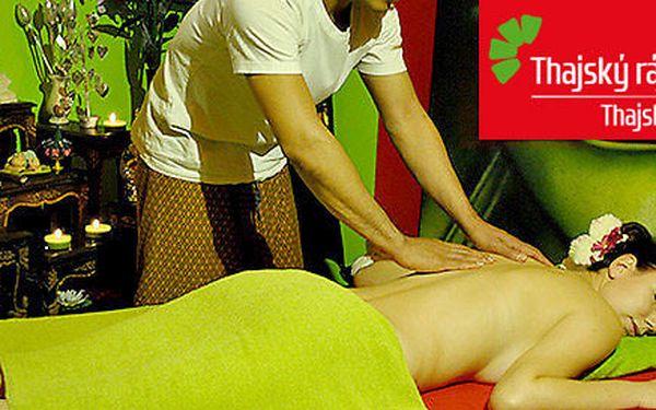 Osvěžující masáže v salonech Thajský ráj (60/90 min)