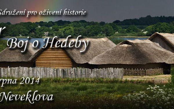 8. ročník raně středověké bitvy Rogar - Boj o Hedeby