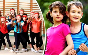 Letní příměstský tábor ve sportovním centru Playing Monkey