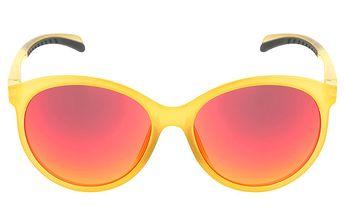 Dámské žluté oválné sluneční brýle Red Bull