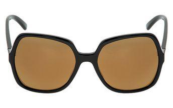 Dámské černé sluneční brýle s hnědými skly Red Bull