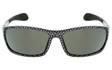 Šedě vzorované sportovní sluneční brýle Red Bull