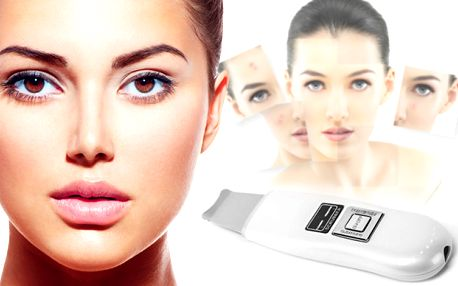 Kosmetická ultrazvuková čisticí špachtle