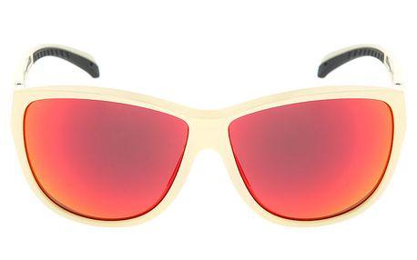 Dámské krémově bílé sluneční brýle s logem Red Bull