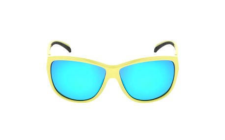 Dámské žlutozelené sluneční brýle s logem Red Bull