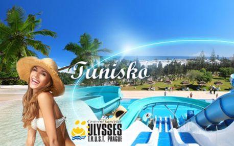 ALL INCLUSIVE TUNISKO v hotelu **** súžasným AQUAPARKEM jen za 12.990 Kč! Osmidenní dovolená ke konci července vkomfortním hotelu přímo na krásné široké pláži!