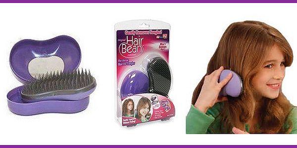 Magický kartáč na vlasy Hair bean
