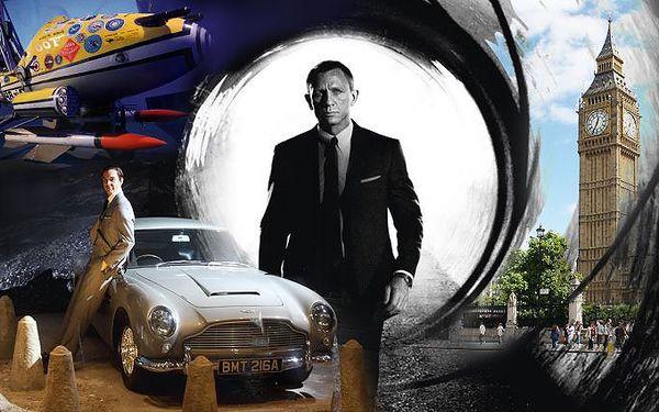 3denní zájezd do Londýna po stopách Jamese Bonda pro 1 osobu