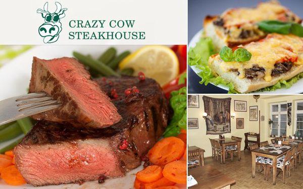 Americké steakové menu pro dva