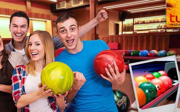 1, 3, nebo 6 hodin bowlingu v restauraci Tukan
