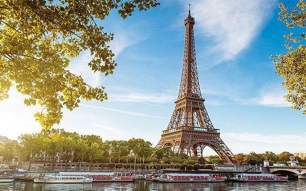 3denní poznávací zájezd do Paříže pro 1 osobu