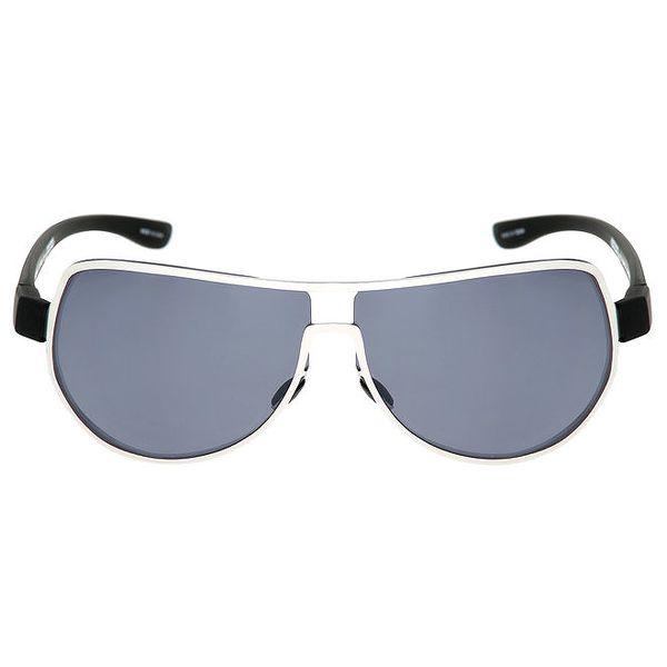 Stříbrné kovové sluneční brýle Red Bull