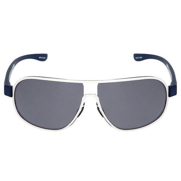 Stříbrné oválné sluneční brýle Red Bull
