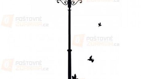 Samolepka na zeď - pouliční lampa a poštovné ZDARMA! - 18610929