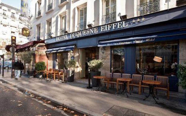 Francie, oblast Paříž, snídaně, ubytování v 3* hotelu na 3 dny