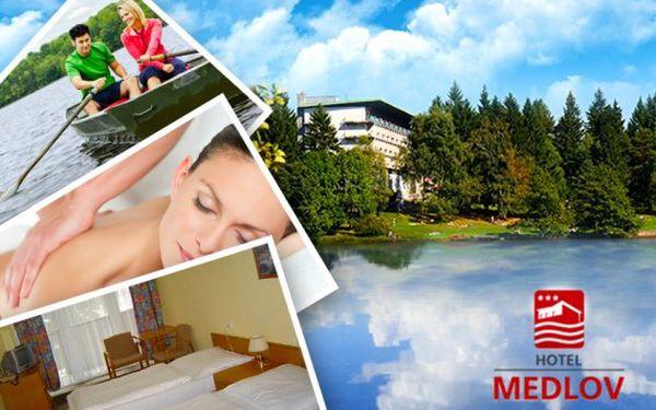 Vysočina – pobyt s polopenzí v Hotelu Medlov*** + 50% sleva na wellness