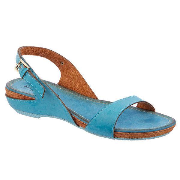 Dámské modré sandály Betsy