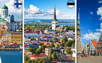 5denní expedice po Finsku a Pobaltí vč. ubytování