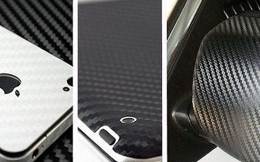 Carbon 3D vinylová folie na polep auta i notebooku: 1-30 metrů