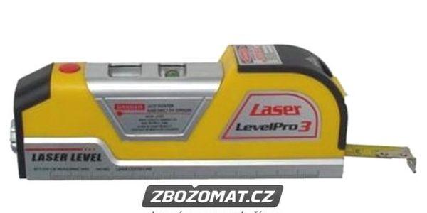 Laserová vodováha se svinovacím metrem Easy Fix!