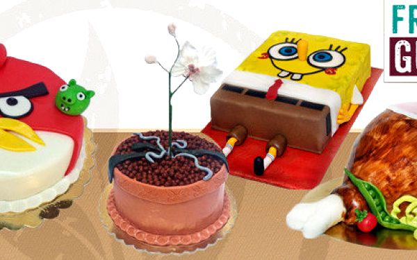 Sladké dorty (2,5 kg) pro 12-16 lidí z Fresco Gusto