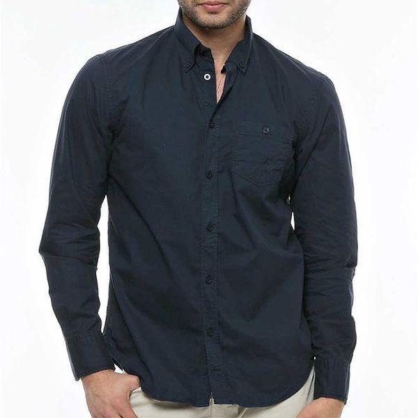 Pánská tmavě modrá košile Nautica