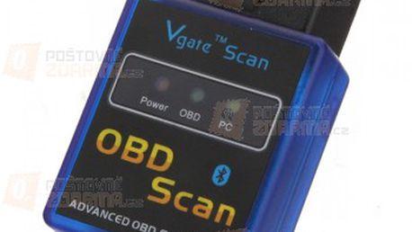 Mini bluetooth autodiagnostika ELM 327 V 1,5 OBD2 a poštovné ZDARMA! - 18806764