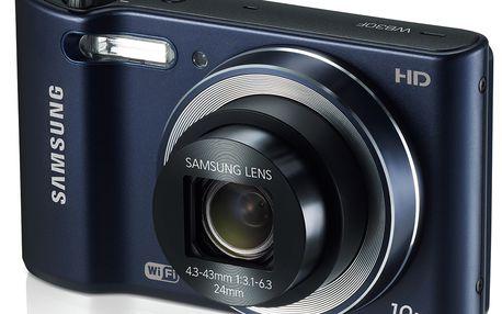 Mikrotenký fotoaparát Samsung SMART CAMERA WB30F nabízí velký styl a vysoký výkon