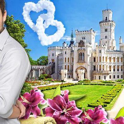 Hluboká a neomezený wellness v 4* zámeckém hotelu Štekl. Královská dovolená v luxusním 4* hotelu Štekl zhýčká všechny vaše smysly. Zažijte wellness políbení pro zamilované a romantickou večeři při svíčkách!