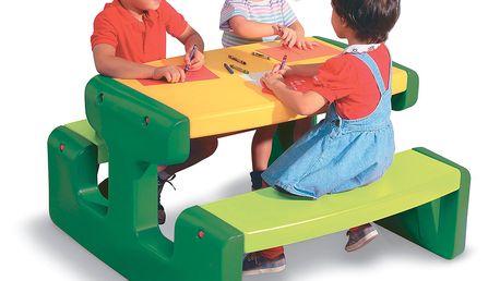 Little Tikes 466A - Piknikový stoleček velký - Evergreen