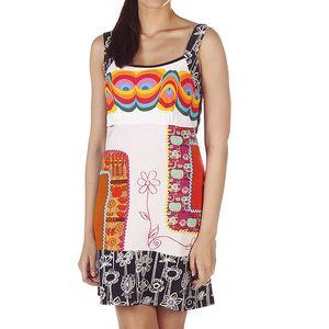 Dámské pestrobarevné šaty na ramínka Savage Culture