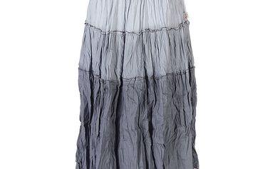 Dámská šedá mačkaná sukně Savage Culture